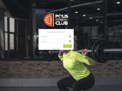 Nova página e APP Polis Fitness Club